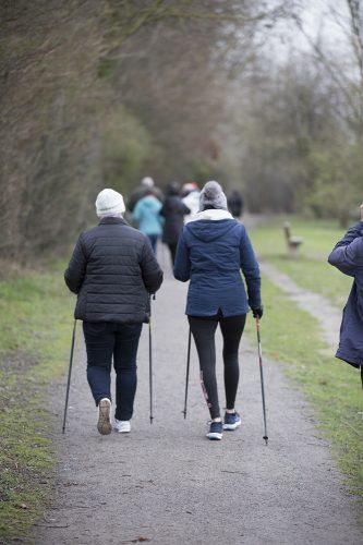 Marche bâton, activité physique adaptée au sein des ERC